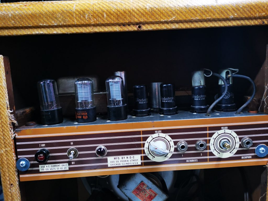 vintage amp servicing