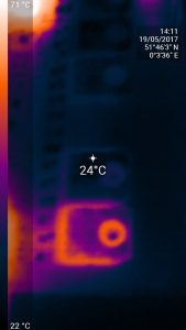mosfet thermal imaging