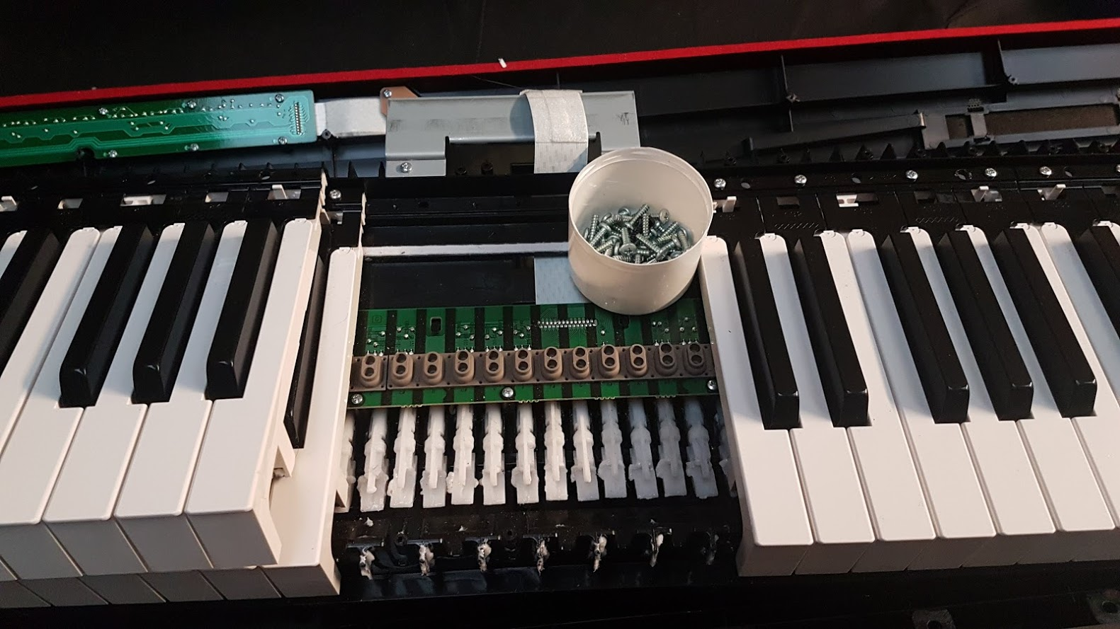 Piano and synth repair cost