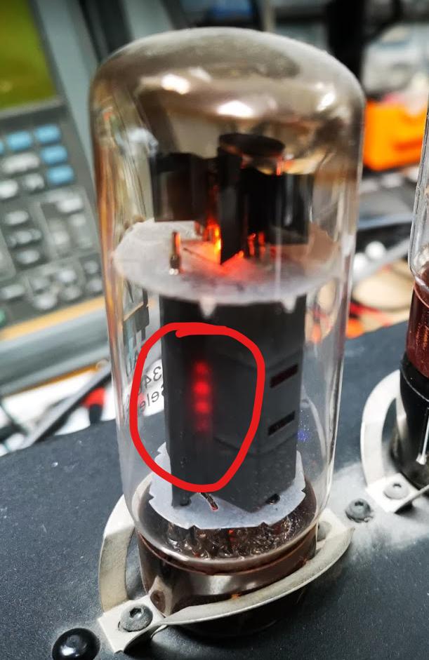 Redplating on valve