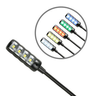 USB led gooseneck light multicolour