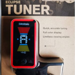 Guitar clip on tuner