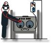 sickamp being diagnosed icon