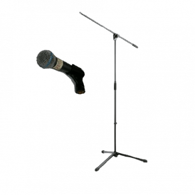 microphone vocal and stand rental